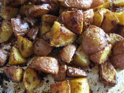 Mustard Roasted Potatoes | Green Thumb Farms
