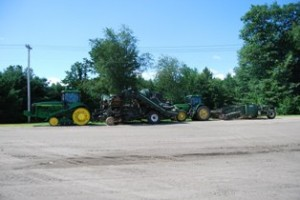 Harvester and Windrower